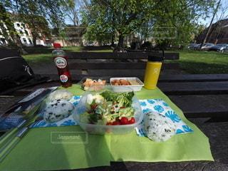 公園へピクニックの写真・画像素材[3089613]