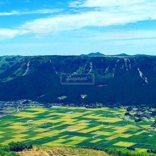 展望台からの阿蘇の眺めの写真・画像素材[3146286]