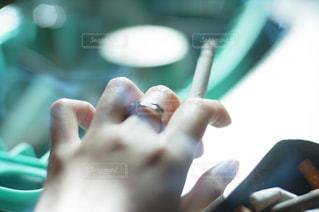 手,タバコ,指,人,爪,サブカル,親指