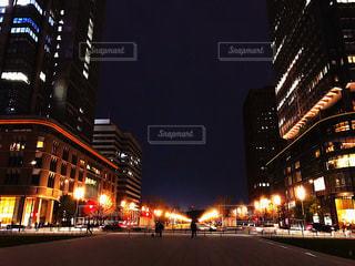 夜景,東京駅,丸の内