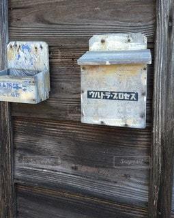 牛乳箱の写真・画像素材[3052494]