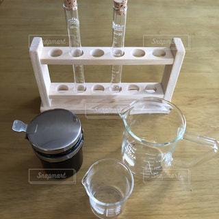 インテリア,コーヒー,屋内,テーブル,食器,カップ,オブジェ,実験,理科,試験管,ビーカー