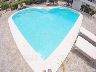 #夏,#summer,#ハート,#プール,#スイミング,#ハートのプール
