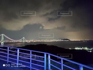 風景,空,カップル,屋外,水面,光,淡路島,明石大橋,クラウド,思ひで,水と光のフュージョン,一世一代
