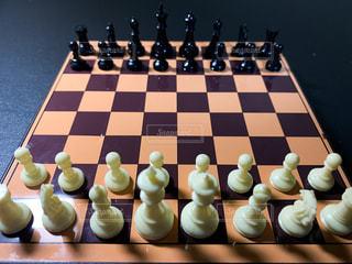 チェスの初期配置の写真・画像素材[3100733]