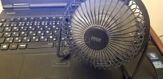 USB扇風機の写真・画像素材[3445585]