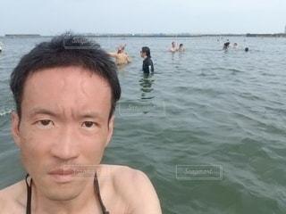 海気持ちイー!!!の写真・画像素材[3560241]