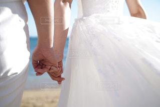女性,恋人,風景,ビーチ,結婚式,ドレス,人,夫婦,約束,フォトウェディング,結婚式ドレス