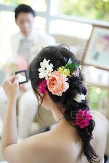 女性,男性,恋人,花,花束,バラ,結婚式,人,夫婦,結婚,フォトウェディング,結婚式ドレス