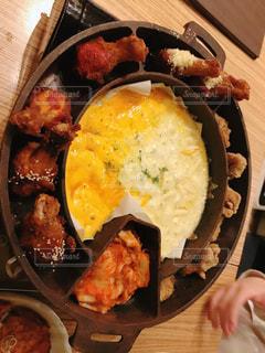 食べ物,食事,朝食,ディナー,屋内,目玉焼き,チーズ,レストラン,韓国,韓国料理,レシピ,ヤンニョムチキン,UFOチキン