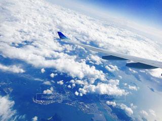 自然,空,雲,青,飛行機,飛ぶ,航空機,フライト