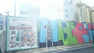 イラスト,壁,絵画,ストリートアート