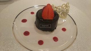 チョコレートケーキの写真・画像素材[3030755]