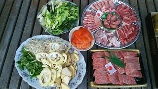 食べ物,食事,野菜,肉,バーベキュー