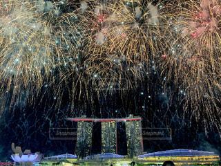 夜景,花火,旅行,シンガポール,海外旅行,マリーナベイサンズ,タビジョ