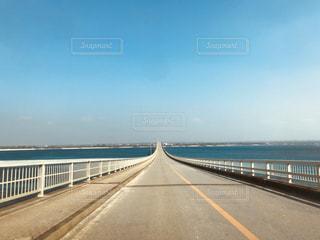 橋と青空の写真・画像素材[3027373]