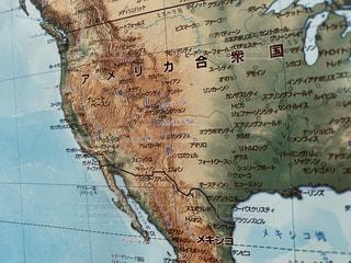 地図のクローズアップの写真・画像素材[3043454]