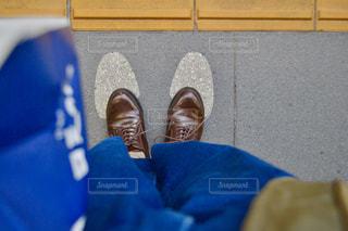 靴,人,ホーム