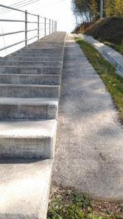 空向きの階段の写真・画像素材[3028599]
