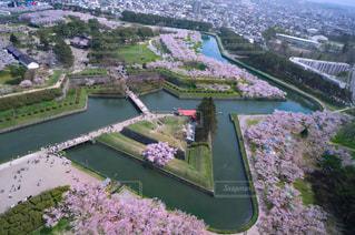 都市を流れる川の写真・画像素材[3041015]