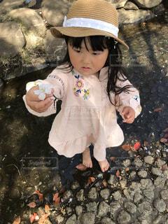 桜の花を見つけたよ♡の写真・画像素材[4289525]