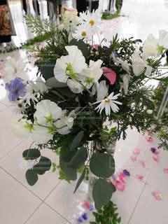花束,チャペル,草木