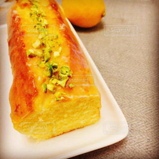 手作りレモンケーキの写真・画像素材[3028422]