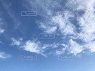 自然,空,雲,青,日中