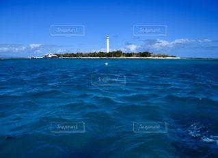 風景,海,空,屋外,青,水面,灯台