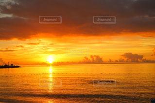 風景,空,屋外,太陽,夕暮れ,水面,海岸