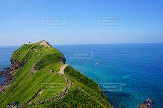 自然,風景,空,屋外,大地,崖,岬,眺め,神威岬