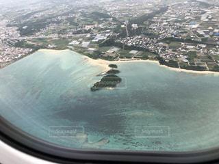 自然,海,ビーチ,飛行機,波,水面,空中