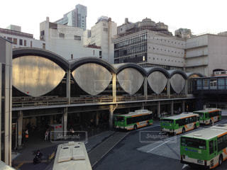 建物,屋外,駅,都会,バス,渋谷,懐かしい,ホーム,ロータリー,旧東横線