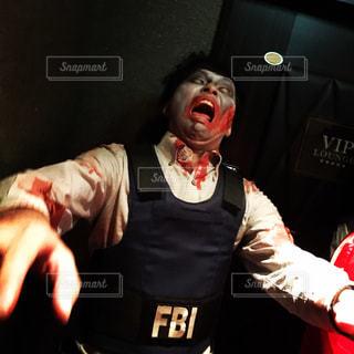 男性,人,ハロウィン,コスプレ,ホラー,血,FBI,ゾンビ,ウォーキングデッド,捜査官