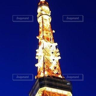 空,東京タワー,青,タワー,蒼