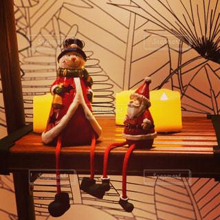 屋内,小物,キャンドル,クリスマス,サンタクロース,オブジェ,スノーマン,グッズ