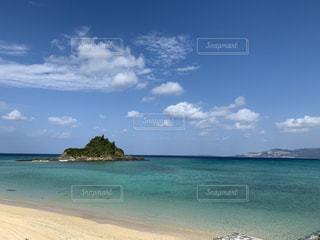 自然,海,空,屋外,ビーチ,雲,島,砂浜,水面,海岸,日差し,日中,クラウド,ベイ