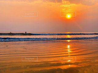 自然,風景,海,空,屋外,太陽,サーフィン,ビーチ,夕暮れ,水面,海岸,桟橋