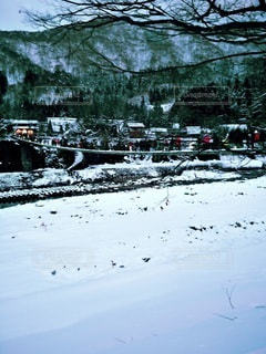 雪のまちの写真・画像素材[3061559]