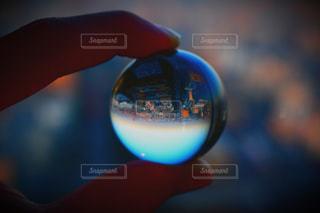 水晶玉の世界の写真・画像素材[3033294]