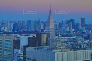建物,タワー,都会,高層ビル,マジックアワー,都市の景観