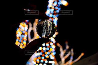 イルミネーション,明るい,水晶玉