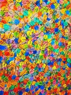 風景,カラフル,アート,鮮やか,モザイク,美術館,北欧,カラー,集合,フィンランド,シール,塗装,市庁舎,市庁