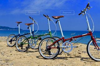 空,自転車,屋外,ビーチ,地面,ホイール