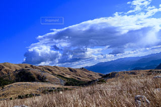 自然,風景,空,屋外,山,草,丘,大地,高原,山腹