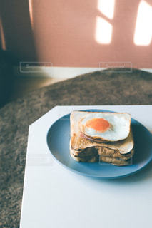 食べ物,朝食,パン,目玉焼き,料理,おいしい
