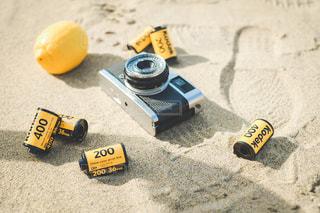 黄色,影,果物,レモン,砂丘,フィルム,フィルムカメラ,グッズ,フィルムケース,物