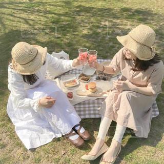 春のピクニックの写真・画像素材[3060681]