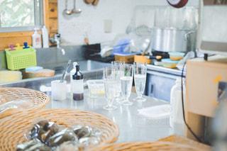島のカフェの写真・画像素材[3243928]