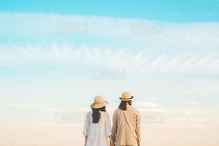 夏の夕暮れの写真・画像素材[3243946]